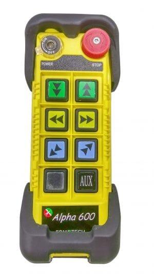 607 B Industrial remote controls